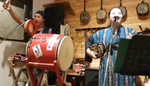 【宮古島】島唄居酒屋「基山」の三味線ライブと沖縄料理が最高でした!